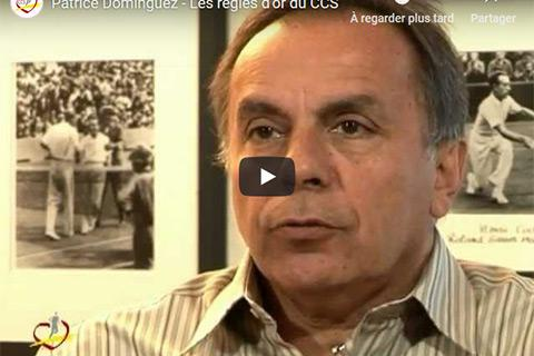 Interviews des grands sportifs - Patrice Dominguez