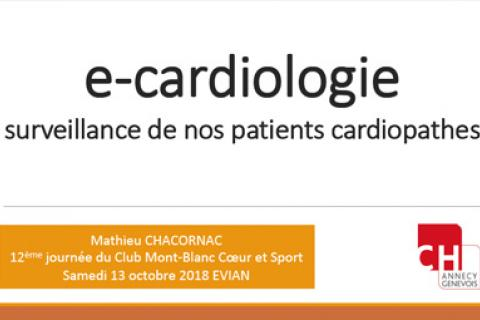 E-cardiologie : surveillance de nos patients cardiopathes